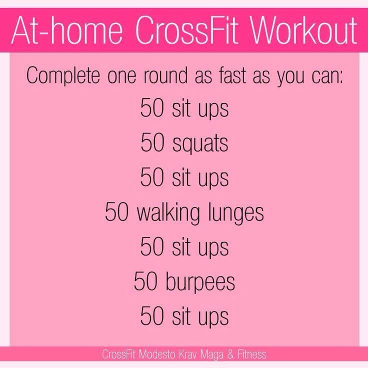 Crossfit Workout Routines: 17 Best Images About Fitness At Home On Pinterest