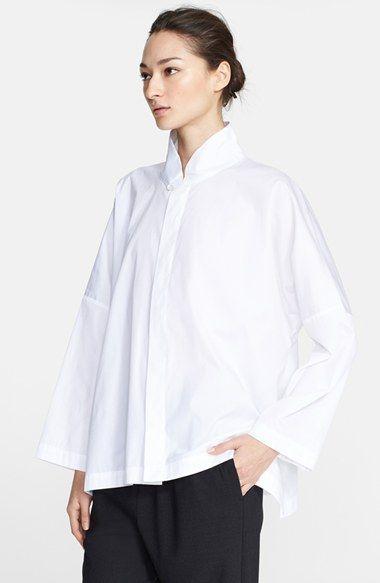 eskandar Cotton Poplin Shirt available at #Nordstrom