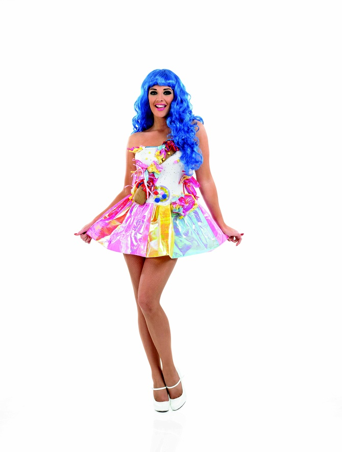 Great Fancy Dress for all the family at www.partyonfancydress.co.uk we've got prices to suit any pocket and the costumes for any occassion! Hen,Stag and Birthday Partys we've got them covered! get to Party On Fancy Dress for a great deal on your costumes!Ladies Pop Star Sweetie Fancy Dress Costume FUN3242