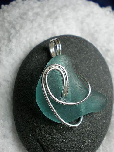 PENDANT - Sea Glass Jewelry.