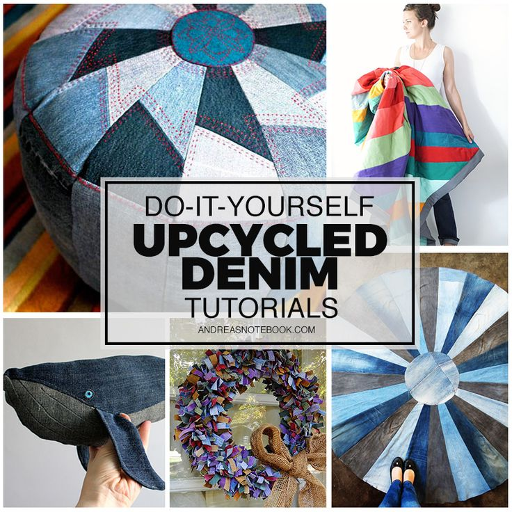 97 best images about crafty uses for old jeans on for Jeans upcycling ideas
