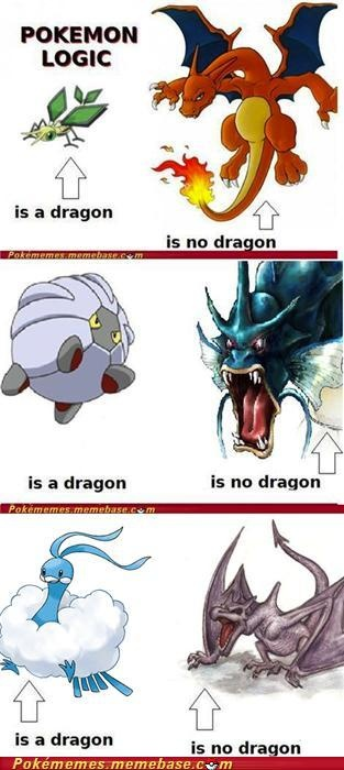Vibra, and Shelgon turn into real dragons…….but yes all of the, should be dragons…….except alt aria can go die in a hole