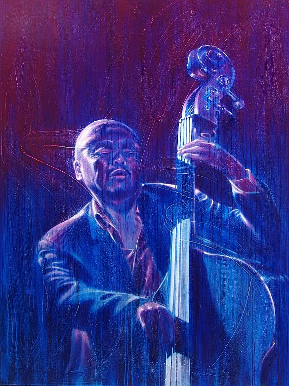 Jazz Art Paintings / Kenny Barron / acrylics on canvas / 120x160 cm.