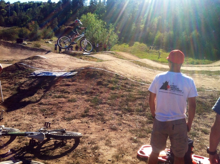 BMX racing in Steamboat Springs