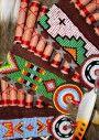 Colourful Headdress Beading by Banana j creations