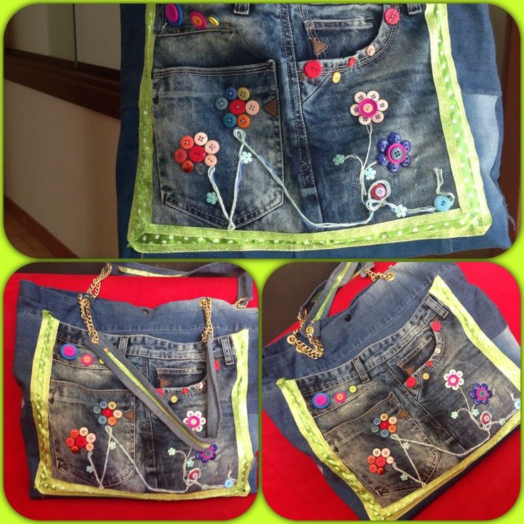 Borsa - riciclo jeans