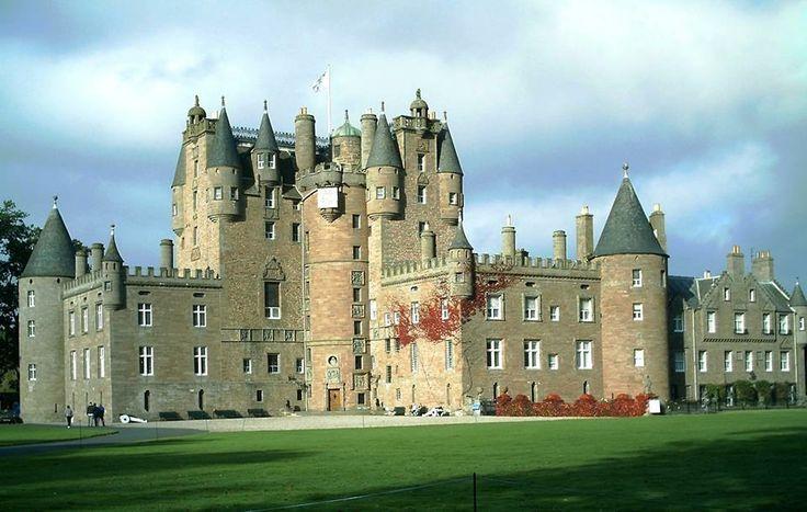 Skót kastélyok ♥ Glamis castle
