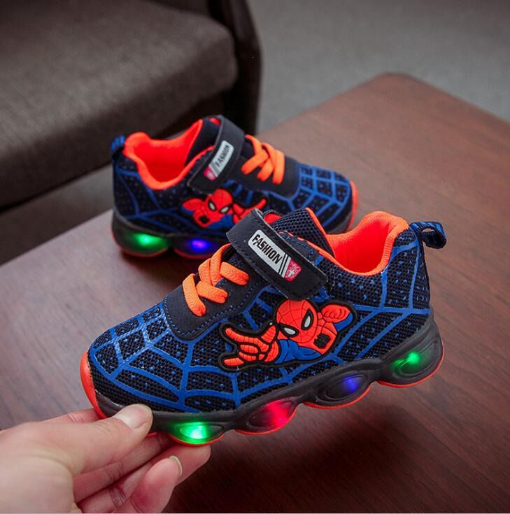 Spiderman Kids Shoes for Boys Girls