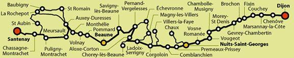 Route des Grands Crus Burgundy