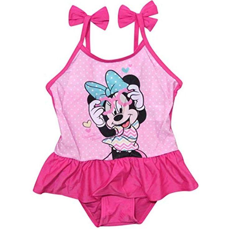 Minnie Mouse Bademode Badeanzug Mädchen Disney #Bekleidung #Herren #Accessoires…