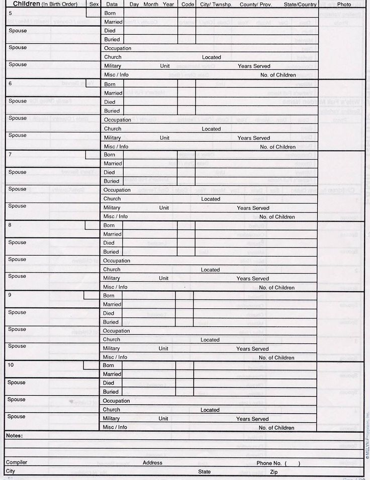 Family group sheet no 1 170 1 521 pixels family for Family group record template