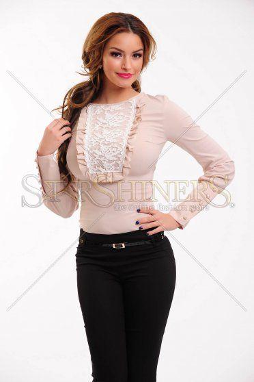 Camasa LaDonna Rustic Fashion Cream