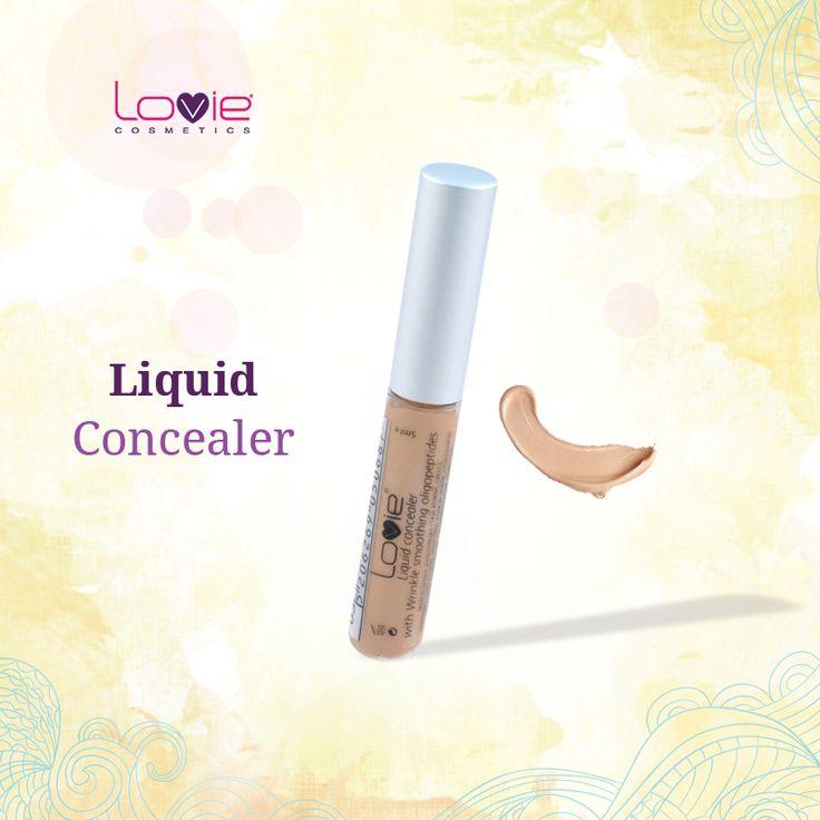 Δε σβήνει μόνο τους μαύρους κύκλους, αλλά προλαμβάνει το σχηματισμό ρυτίδων γύρω από τα μάτια.! Χωρίς Parabens!  http://www.lovie.gr/konsiler-lovie/liquid-concealer/liquid-concealer-no3 #lovie #cosmetics #liquid #concealer
