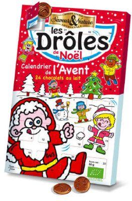 Adventskalender med 24 goda bitar mjölkchoklad att avnjuta ända fram till jul! Finns i vår webshop och butik just nu!