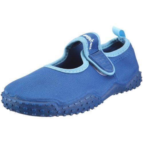 Oferta: 11.95€. Comprar Ofertas de Playshoes UV-Schutz Aqua-Schuh klassisch 174797 - Chanclas de nailon para niños, color azul, talla 34/35 barato. ¡Mira las ofertas!