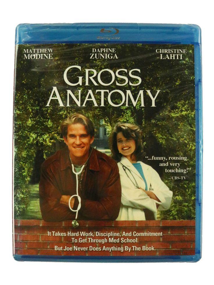 Gross Anatomy Blu-ray Matthew Modine Daphne Zuniga Christine Lahti Fast Shipping #BuenaVista