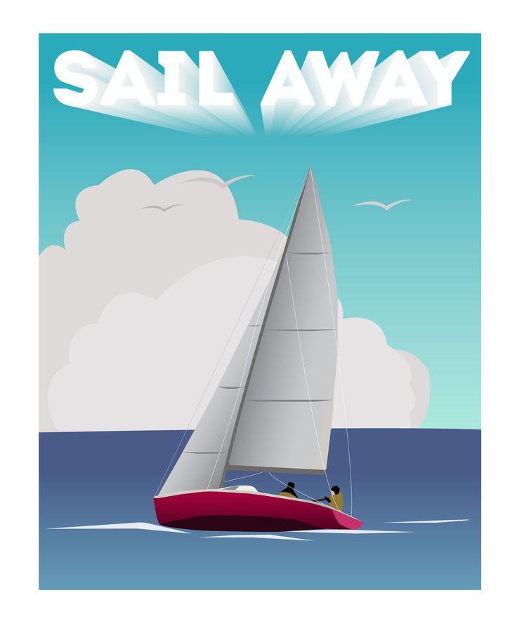 My first #yacht #illustration