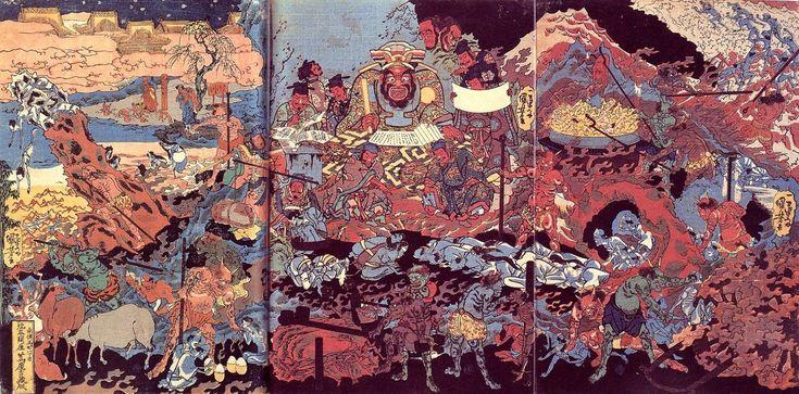歌川国芳「地獄絵」