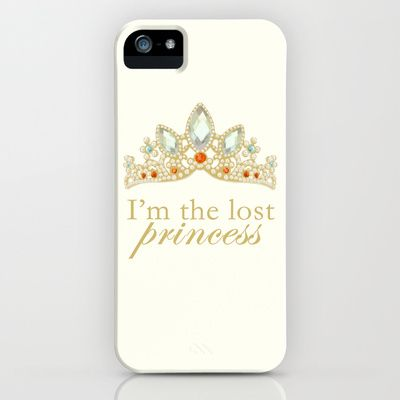 The Lost Princess iPhone & iPod Case by lunalalonde - $35.00 Disney Tangled Rapunzel
