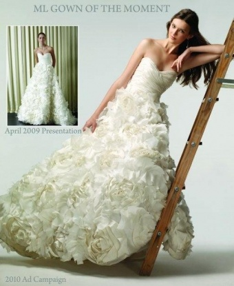 Amazing Sunday Rose Wedding Dress
