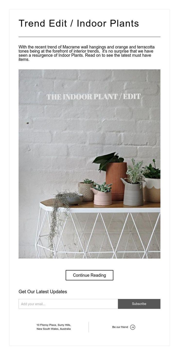 Trend Edit / Indoor Plants