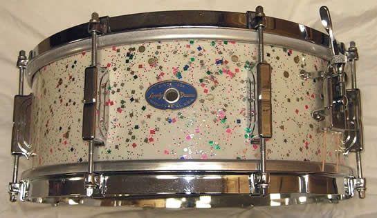 Leedy 5x14 1960 Snare Drum Fiesta Pearl