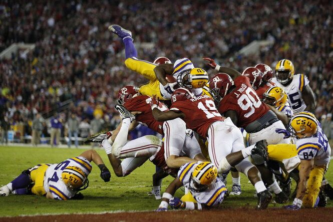 Ranking last 10 wild Alabama-LSU games
