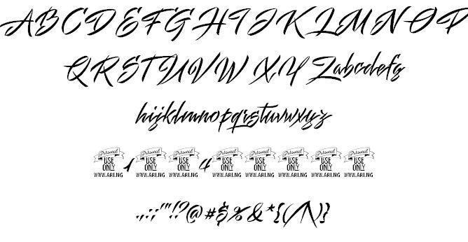 Mistuki 1 PERSONAL USE font by Måns Grebäck - FontSpace