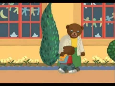 Petit ours brun rentre à l'école - YouTube
