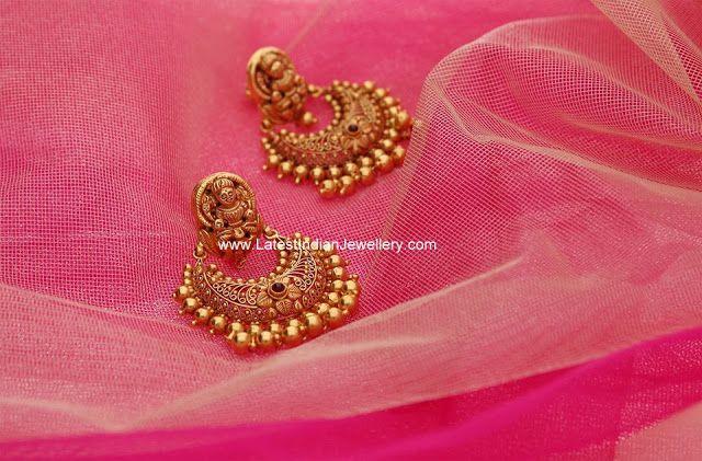 Gold Lakshmi Chandbalis