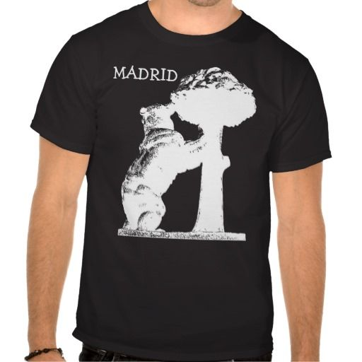 Bear and tree, Madrid Tshirt