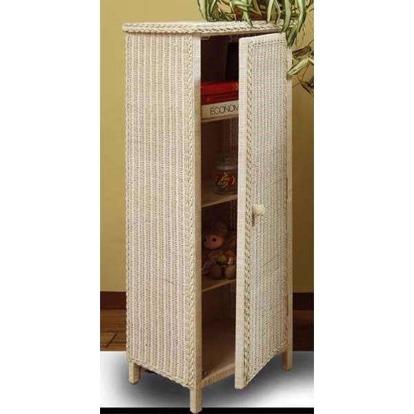 Chasco Designs 4060-WW Jelly Cabinet in Whitewash