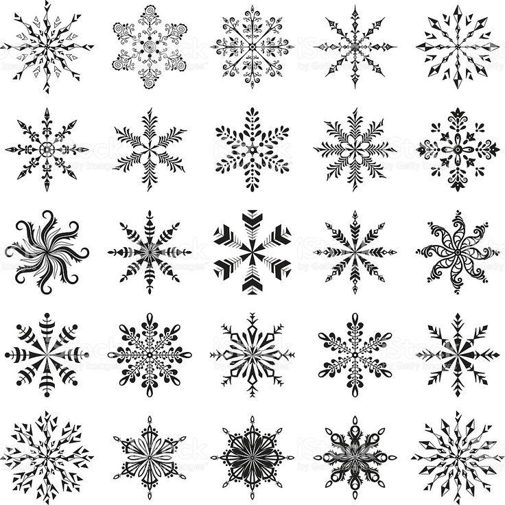 Populaire Plus de 25 idées uniques dans la catégorie Flocon de neige dessin  WL64