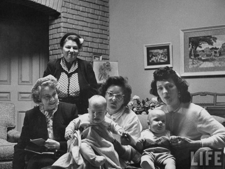Twin babies who alternate in role of Lucille Ball's child on her TV show, & - Sitcoms Online Photo Galleries