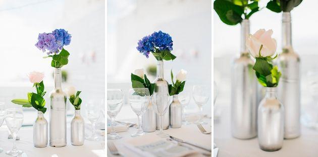 Intimate Weddings Mykonos | Santorini Wedding by Stella and Moscha - Exclusive Greek Island Weddings | Photo by Anna Roussos | www.stellaandmoscha.com