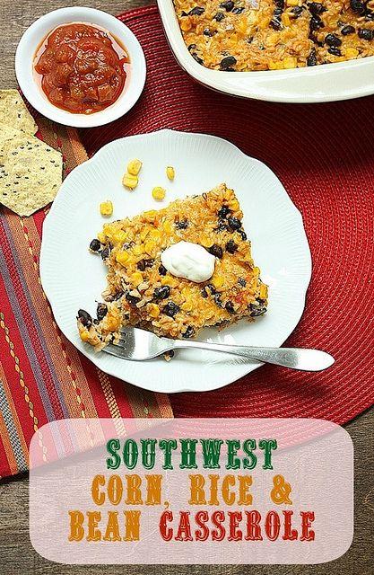 Southwest Casserole by mealmakeovermoms, via Flickr