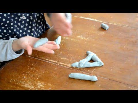 Übungen mit Knete zur Verbesserung der Graphomotorik und Feinmotorik - YouTube