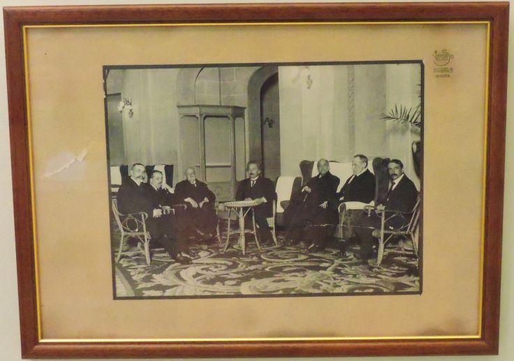 Museo Homeopatía - Einstein durante su visita a la Universidad Central de…