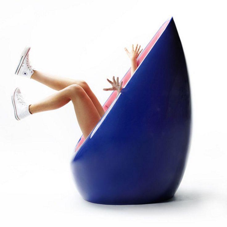 Karim Rashid's fashionable designs: Koop chair for Martela.