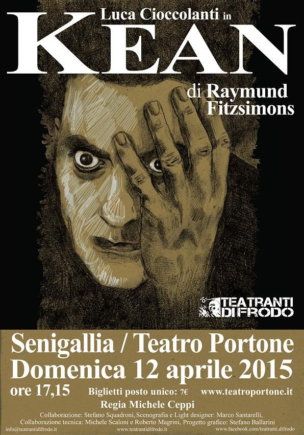 #locandina #teatro #edmundkean  #teatrandifrodo #raymundfitzsimons