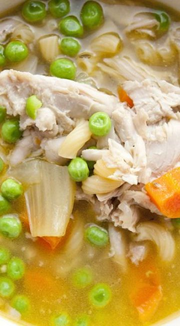 Pressure Cooked Chicken Soup