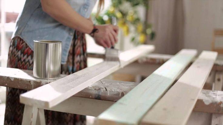 Måla bord - Inspiration från Anza