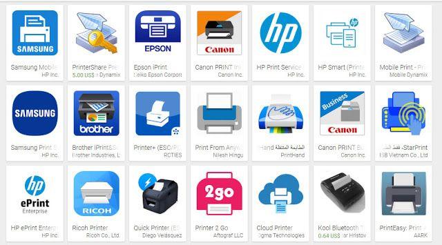 كيفية الطباعة من هاتف اندرويد Android أو جهاز الكمبيوتر Canon Print