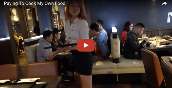 Paying To Cook My Own Food At Gen Korean BBQ House   John Chow dot Com