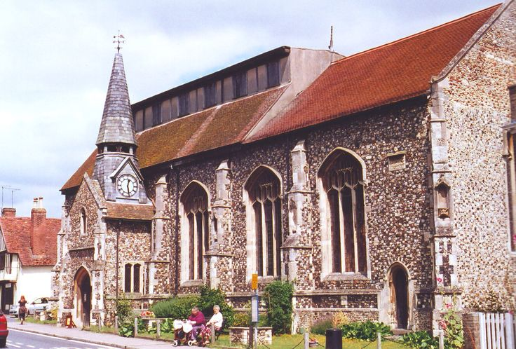 The church at Needham Market