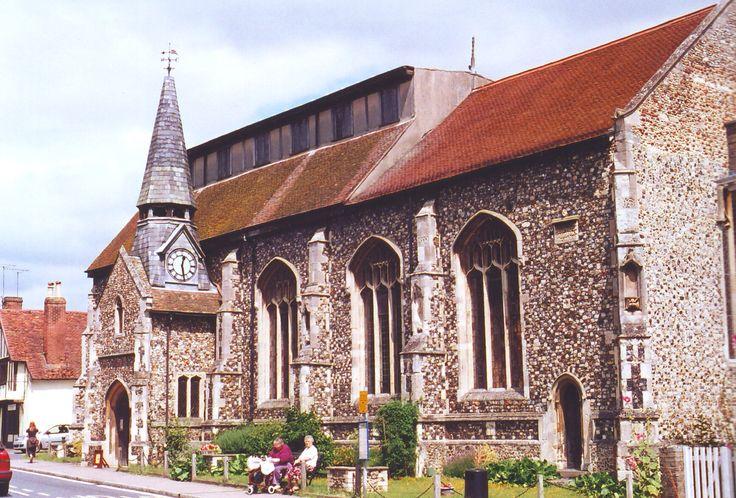 The church at Needham Market