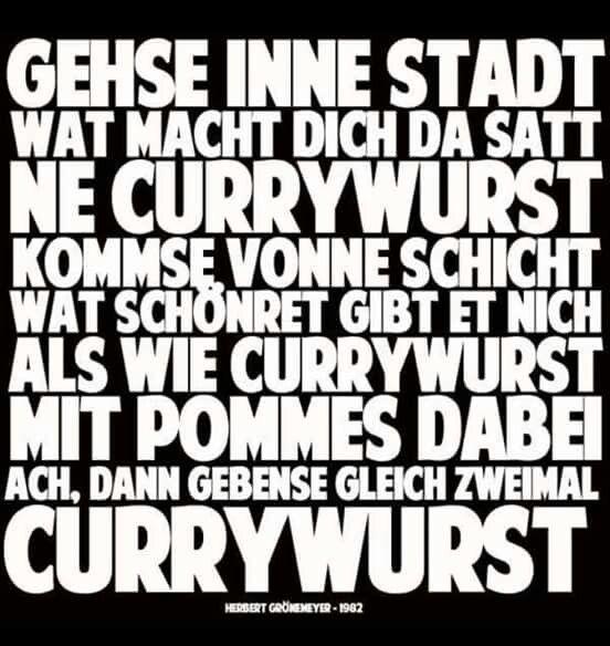 ❤ Bochum Currywurst