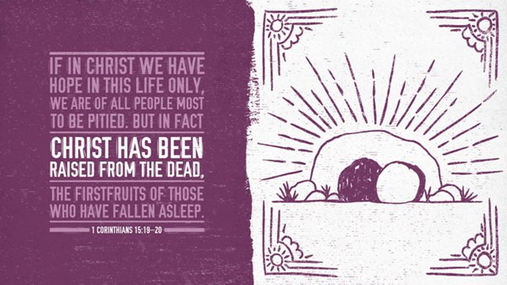 Bible Art 1 Corinthians 15-16 Christ has been raised from the dead
