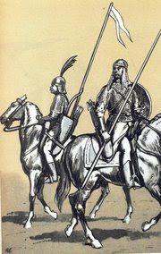 Czeremisi z wojska koronnego. Rys. B. Gembarzewski.
