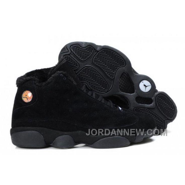Men's Nike Air Jordan 13 Shoes All Black Discount EdJd786, Price: $95.28 - Air Jordan Shoes, Michael Jordan Shoes - JordanNew.com